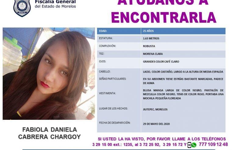 FABIOLA DANIELA CABRERA CHARGOY