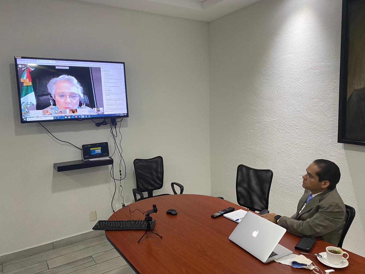 Reconoce secretaria de Gobernación a Rubén Jasso Díaz como presidente del Tribunal Superior de Justicia de Morelos