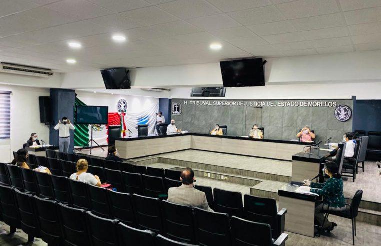 El TSJ Morelos amplío la suspensión de labores hasta el 30 de junio por la pandemia