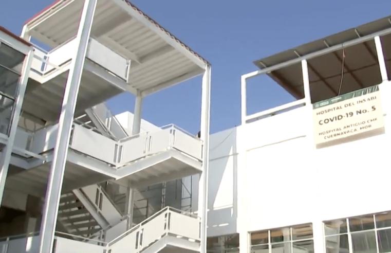 Hospital Carlos Calero de Cuernavaca, con 90% de reconstrucción: Issste