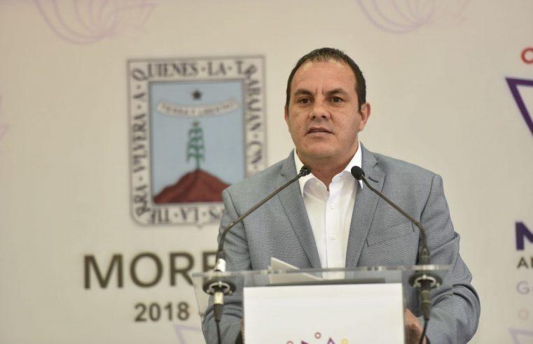 Con Cuauhtémoc Blanco Morelos es primer lugar… pero de secuestros