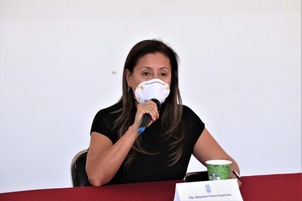 Llama Alejandra Flores a todos los actores políticos de Morelos a la unidad