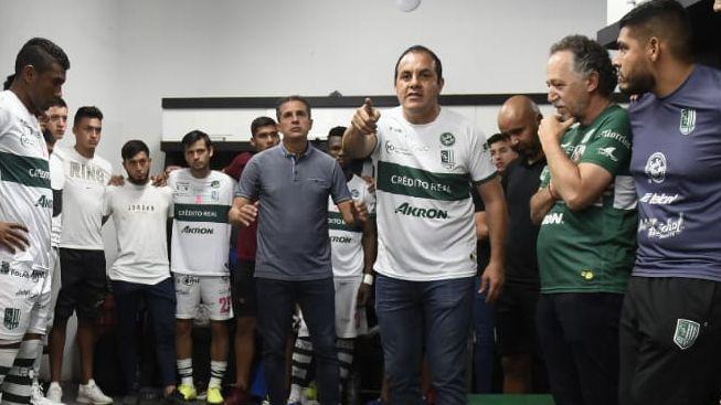 Es prioridad para Cuauhtémoc Blanco que el Zacatepec esté en primera división