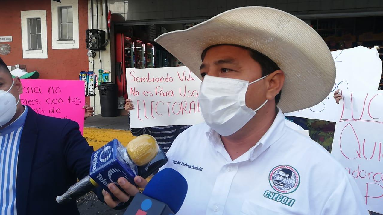 Acusa UNTA uso de programas del gobierno federal con fines electorales en Morelos