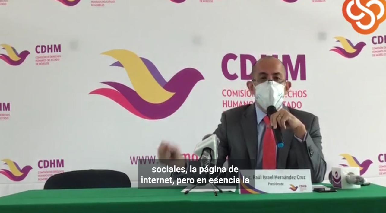 La CEDH Morelos emite recomendación al gobierno por no atender queja de la comunidad LGTBT ante dichos del Obispo