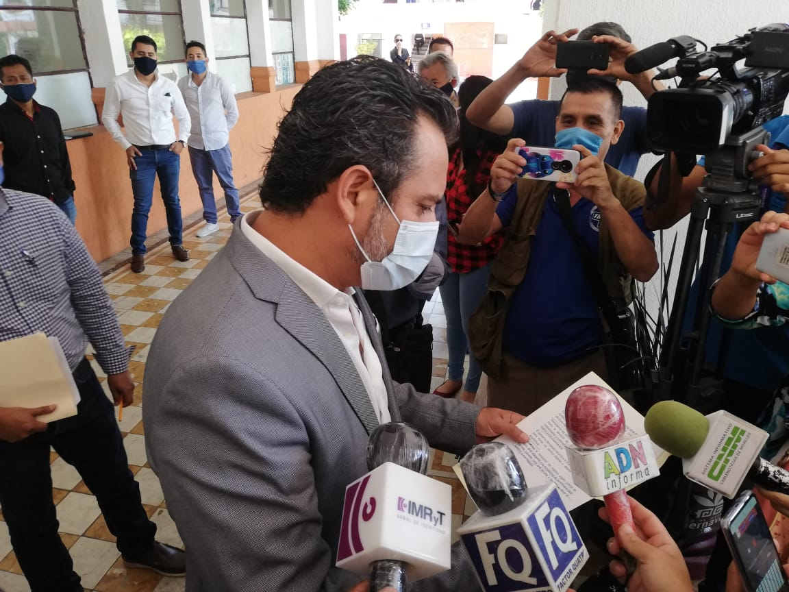 Antonio Villalobos declaro que acatará la decisión de la SCJN, para suspender actividades no esenciales en el municipio
