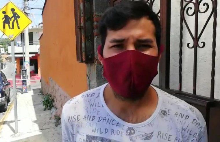 Miembros de la colonia de Acapantzingo reclaman a SAPAC el incremento de hasta el 200% en cobro del agua