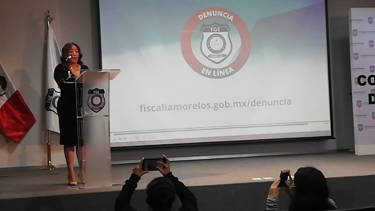 La Fiscalía General del Estado de Morelos da a conocer la detención de una banda de secuestradores