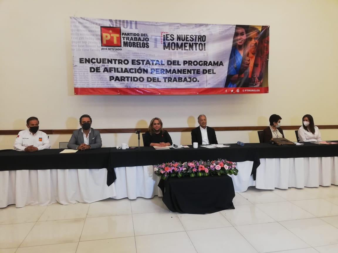 Presidente de PT Alberto Anaya respalda las acciones del presidente de México Andrés Manuel López Obrador