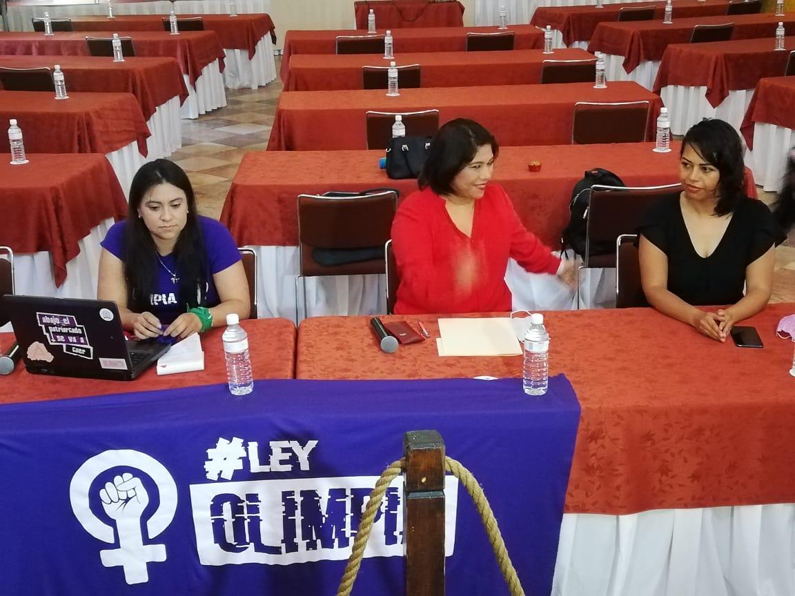 La activista Olimpia Coral Melo Cruz reconoce al Congreso de Morelos por la aprobación de la Ley Olimpia