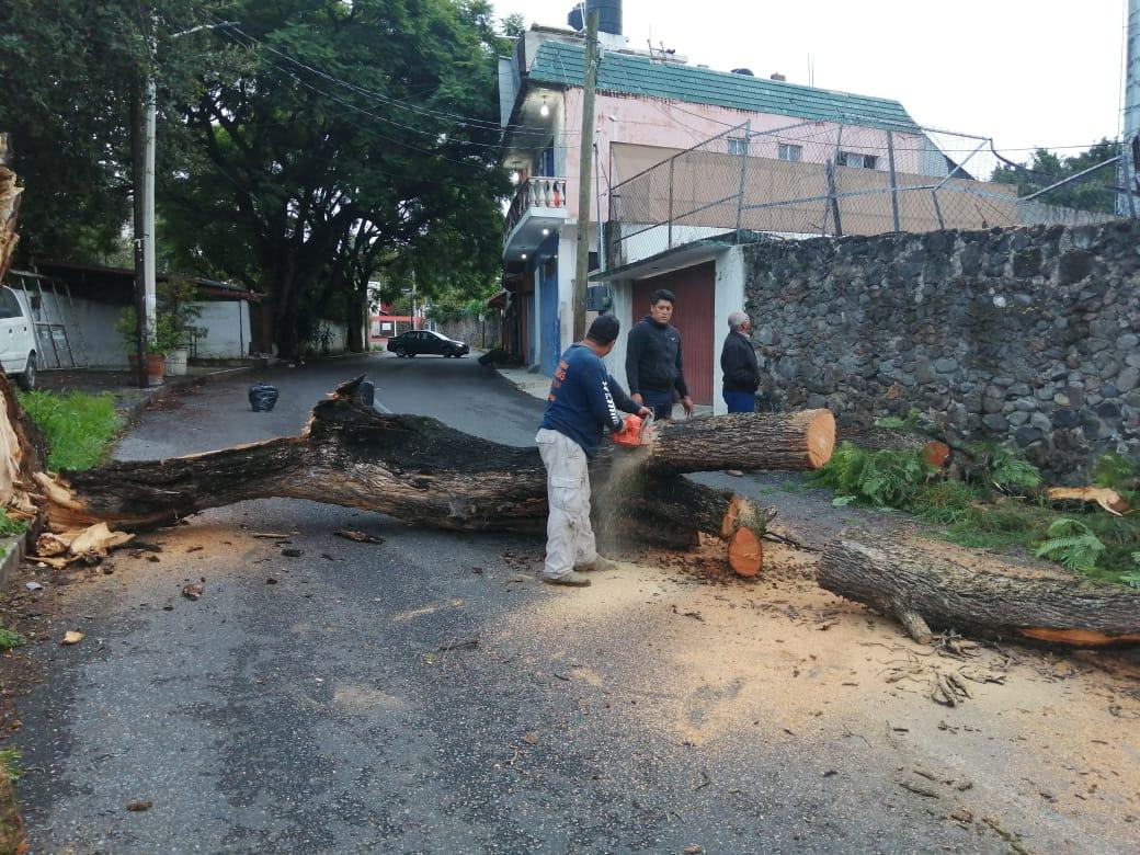 Autoridades de Protección Civil piden a los ciudadanos a estar alertas en los próximos días debido a las fuertes lluvias