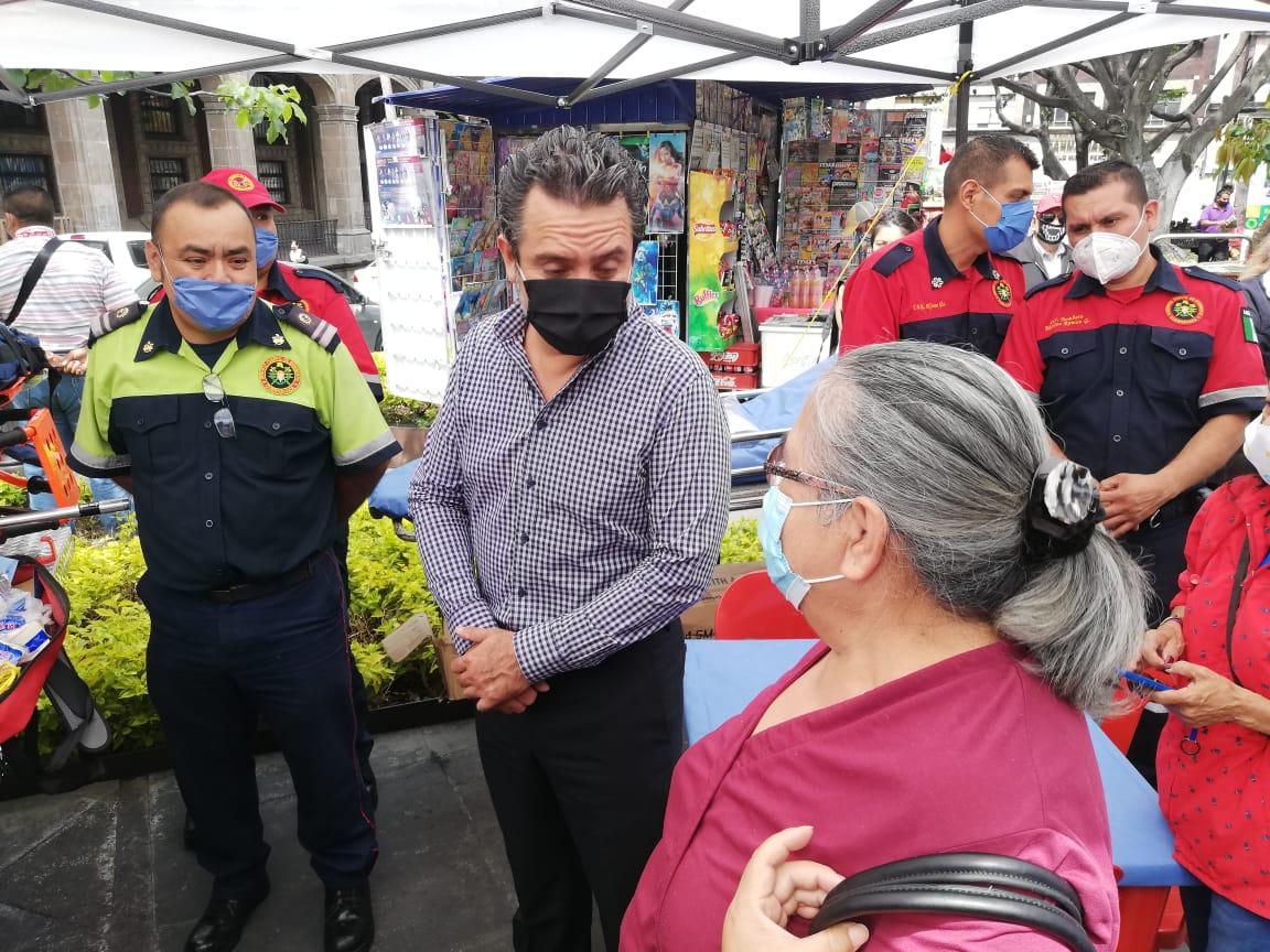 Antonio Villalobos descarto que existan sanciones económicas para los ciudadanos que no utilicen cubrebocas