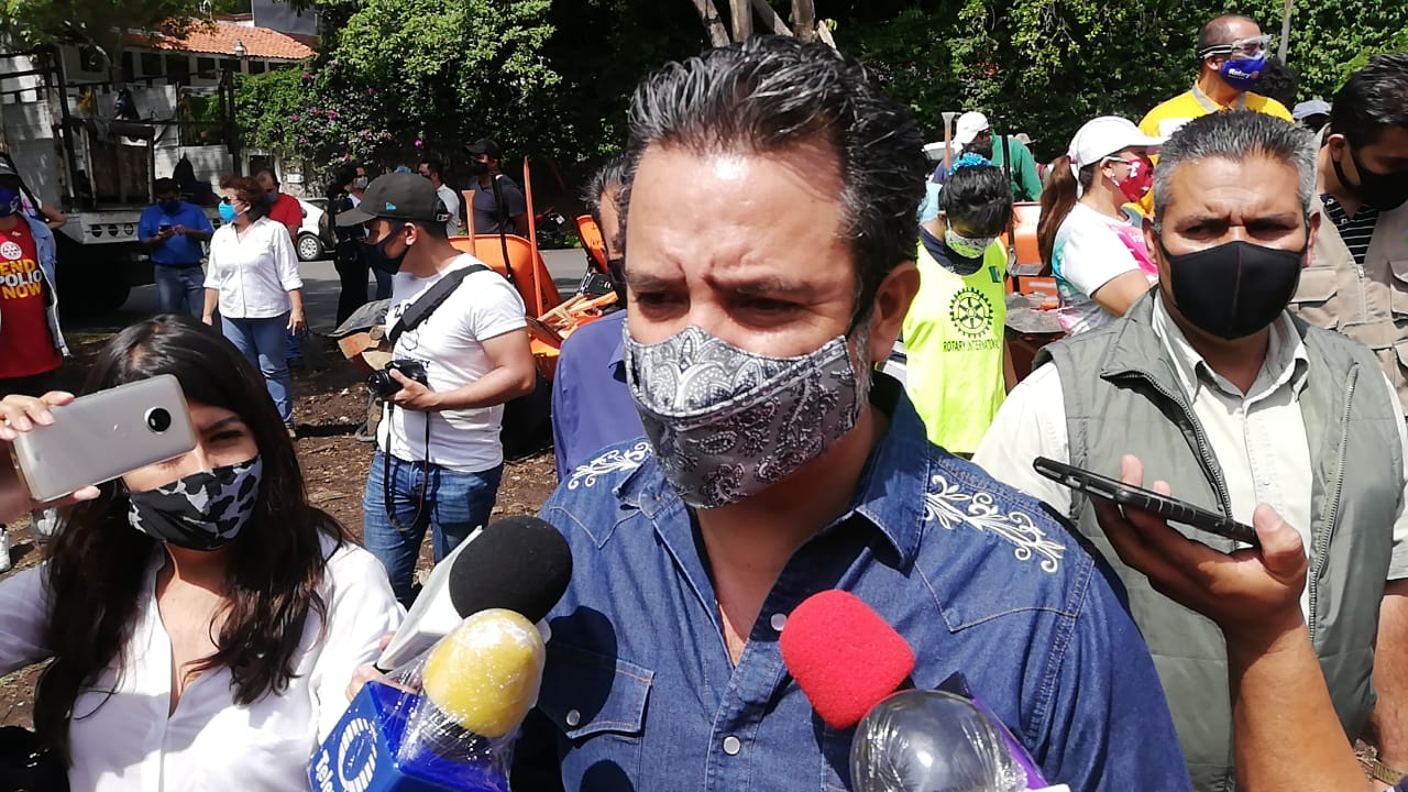 No habrá feria, pero sí habrá festejos religiosos: Antonio Villalobos