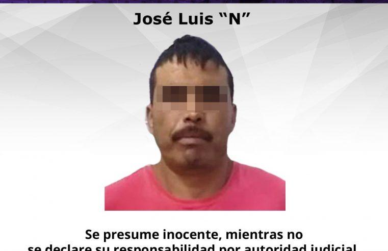 """Detiene Fiscalía Oriente a """"El Chiruli"""" durante cateo en Ayala"""