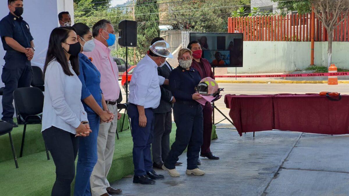 La CNPC conmemora el día del bombero en México