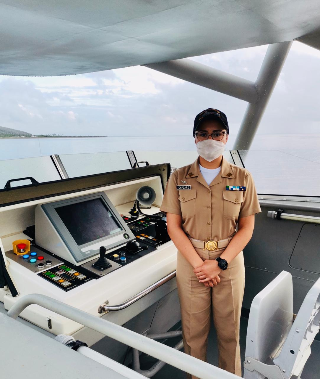 Zarpa patrulla costera de la SEMAR comandada por una mujer
