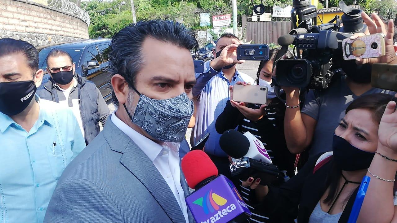 Villalobos adelanto que no habrá ferias en el mes de septiembre por la situación de la pandemia