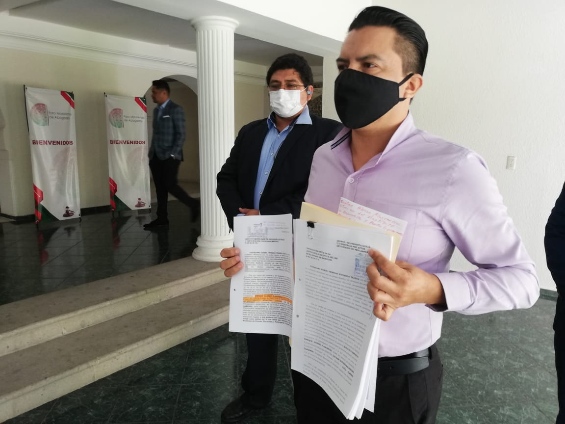 El Foro Morelense de Abogados presenta denuncias en contra del Director del IDEFOMM