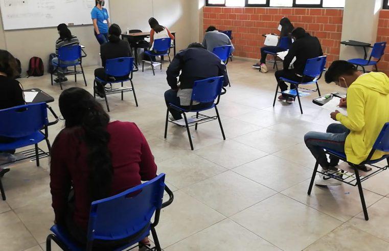 Aplica examen de admisión UAEM; con las estrictas medidas sanitarias