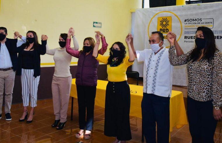 Anuncia PRD incorporación de la Diputada Naida Josefina Díaz Roca a su bancada