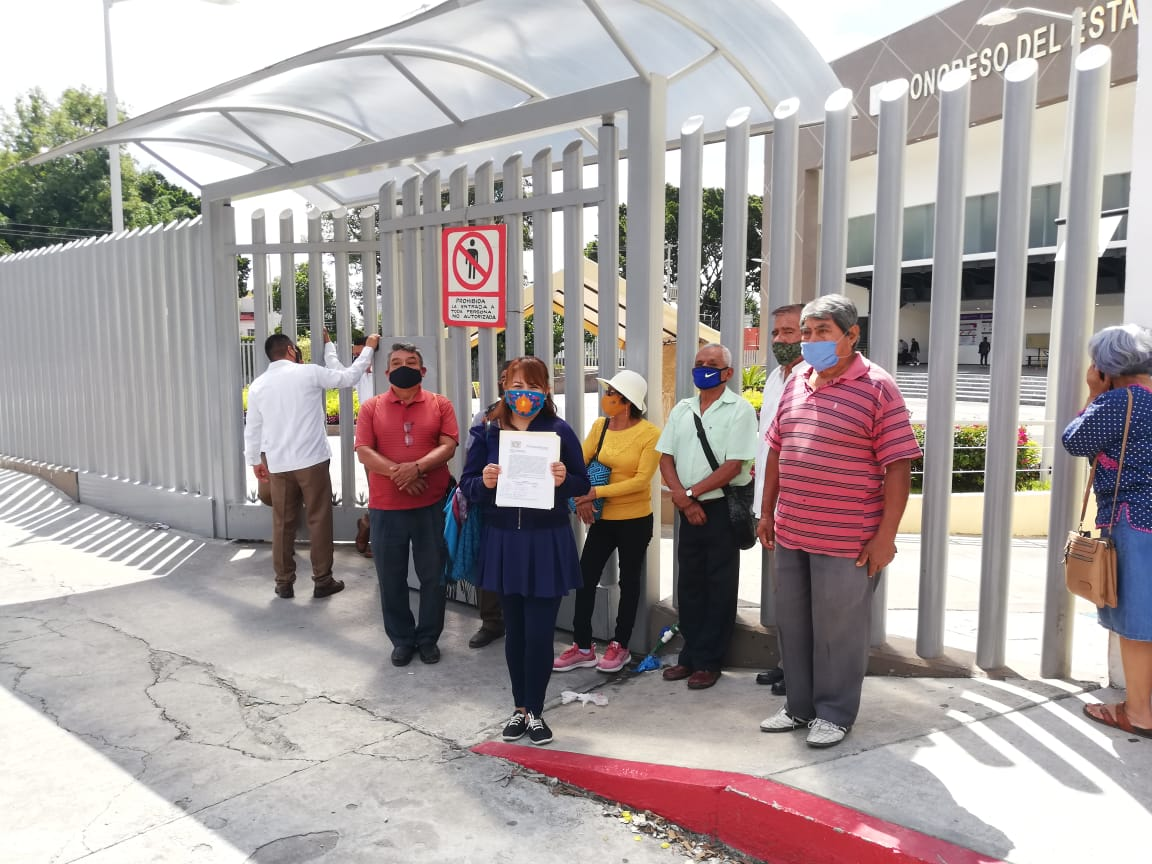Habitantes de Alpuyeca exigen a diputados del congreso avanzar en la solicitud para hacer de este un municipio