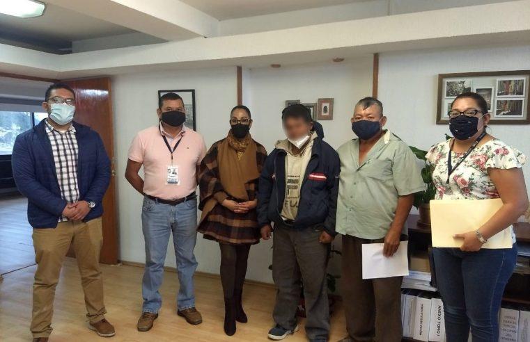 Localiza Fiscalía Morelos y Comisión de Búsqueda de EDOMEX a hombre extraviado