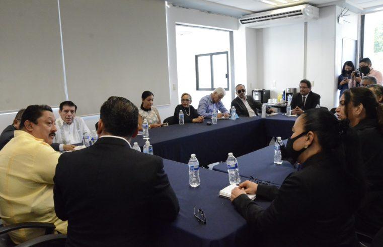 Se reúne Fiscal con Consejo Estatal de Abogados