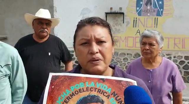 """""""No queremos una masacre"""": pobladores de Huexca"""