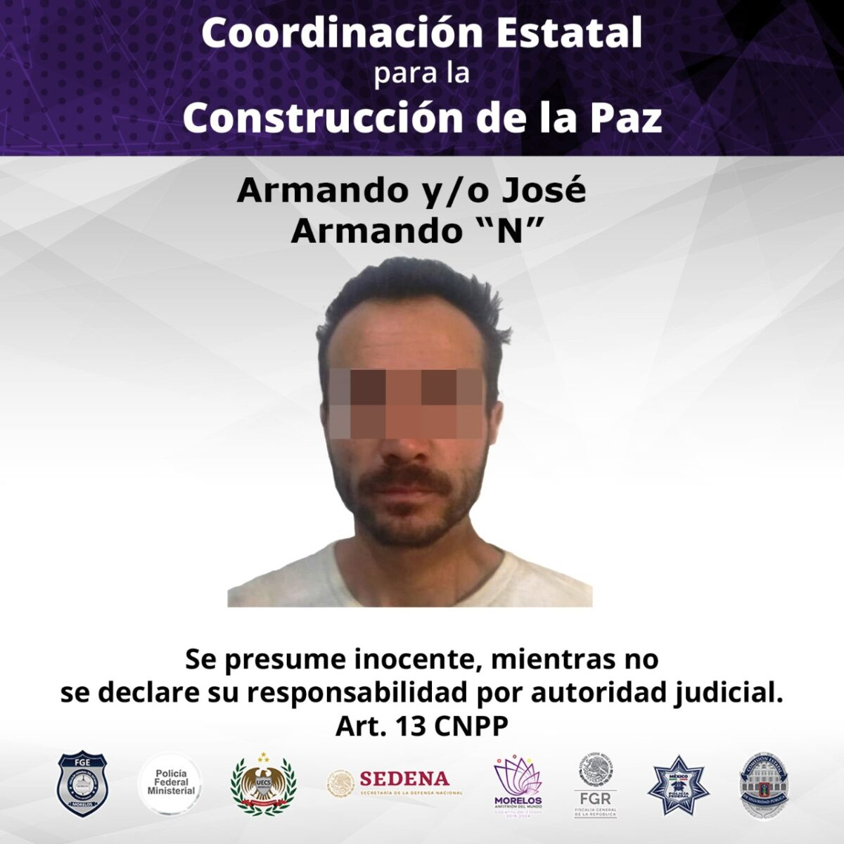 Vinculado por robo a minisúper en Cuernavaca