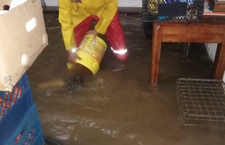 Deja daños materiales lluvia en Cuernavaca