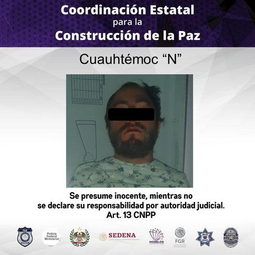 Cuauhtémoc esperó a que su amiga se durmiera en una fiesta PARA ABUSAR SEXUALMENTE DE ELLA en Tequesquitengo