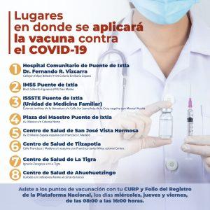 Vacuna Covid Puente de Ixtla NDM Noticias de Morelos