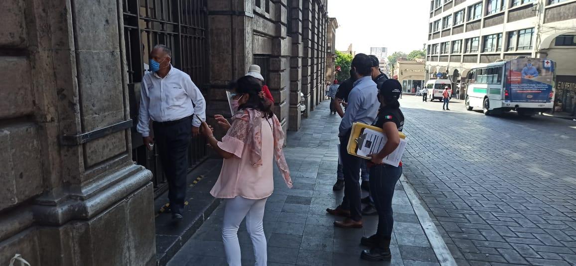 Niegan acceso en Palacio de Gobierno a elementos de la Fiscalía Anticorrupción