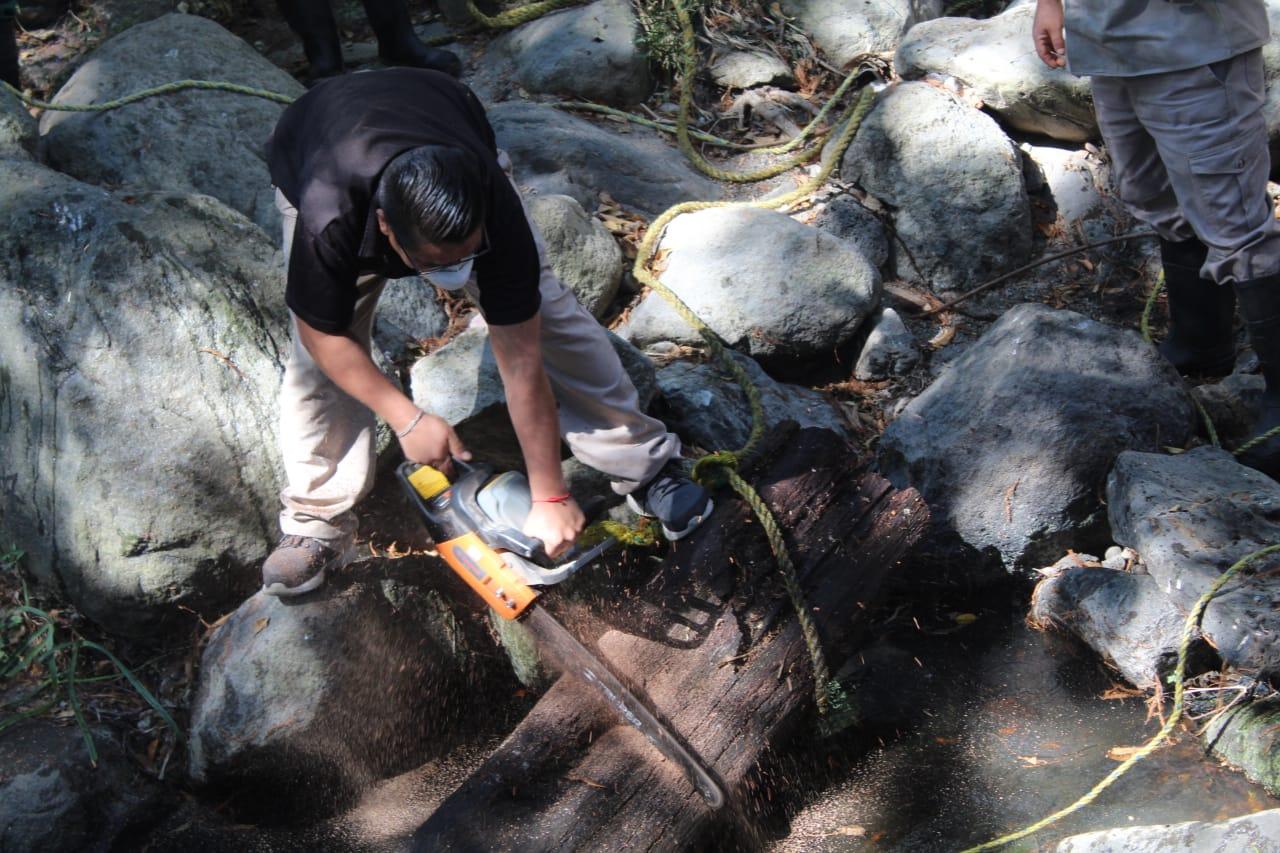 Realizan limpia en la Barranca Chalchihuapán de Cuernavaca