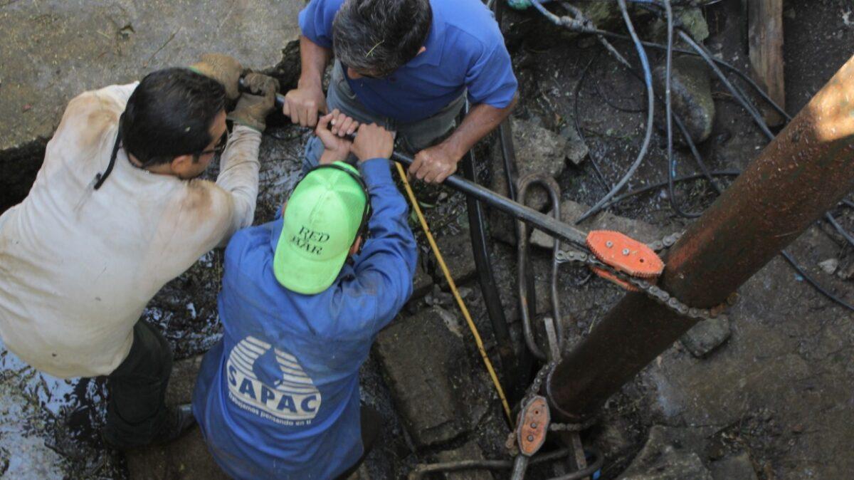 Redobla SAPAC mantenimiento en equipos de bombeo de Cuernavaca